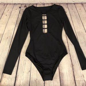 NWT Billabong Longsleeve Cheeky one piece swimsuit